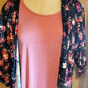 Lularoe xxs perfect t and med.elegant Shirley